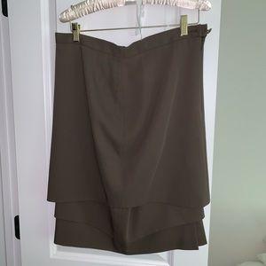 Escada Olive Green Pencil Skirt